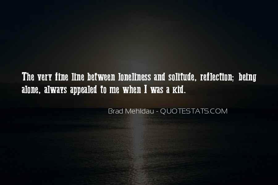 I Am Fine Alone Quotes #789307