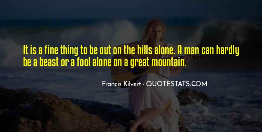 I Am Fine Alone Quotes #97764
