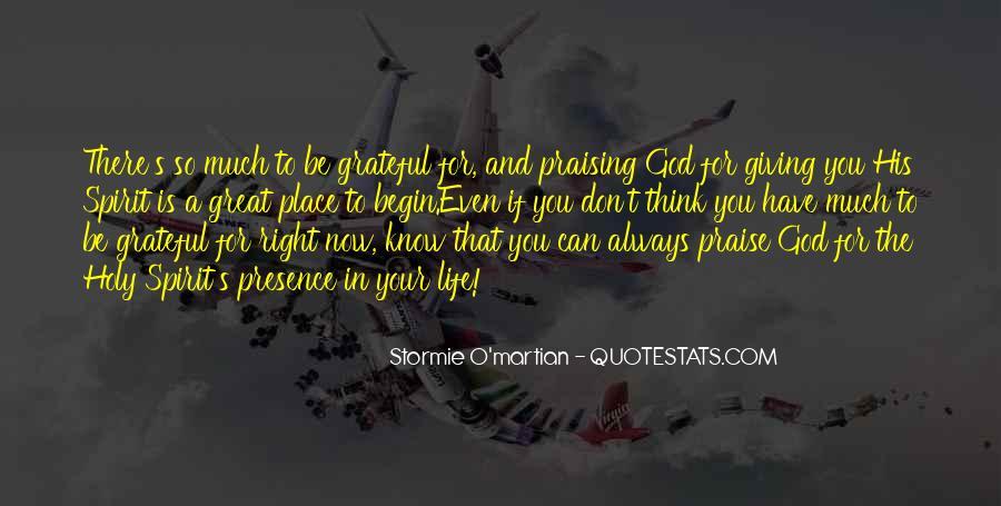 I Am Grateful Bible Quotes #1324265