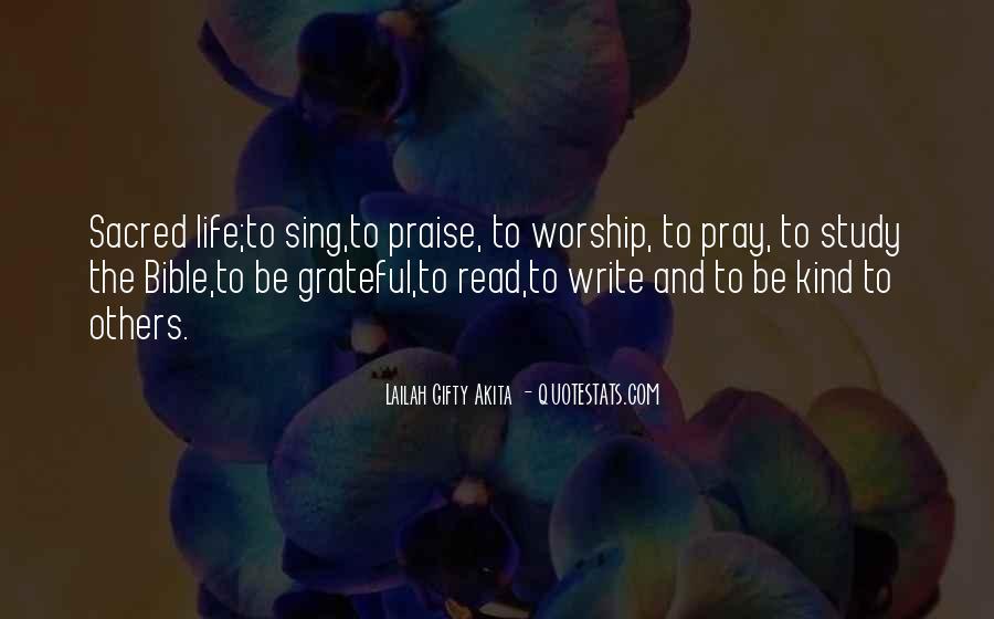 I Am Grateful Bible Quotes #1516570