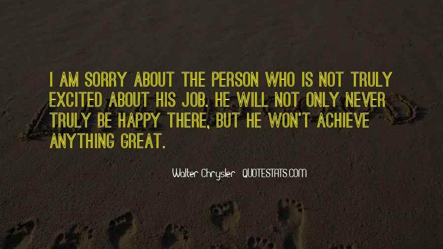 I Am Happy Person Quotes #1097153