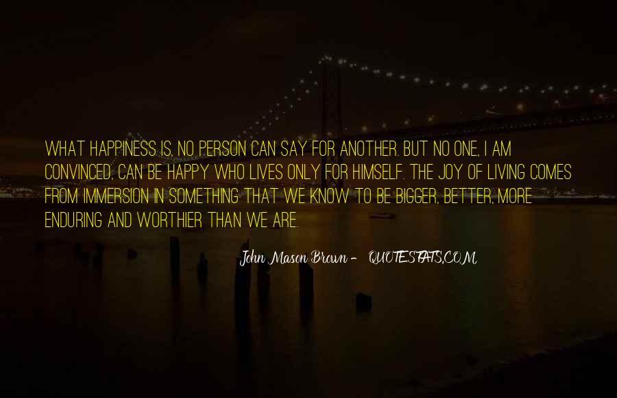 I Am Happy Person Quotes #1166903