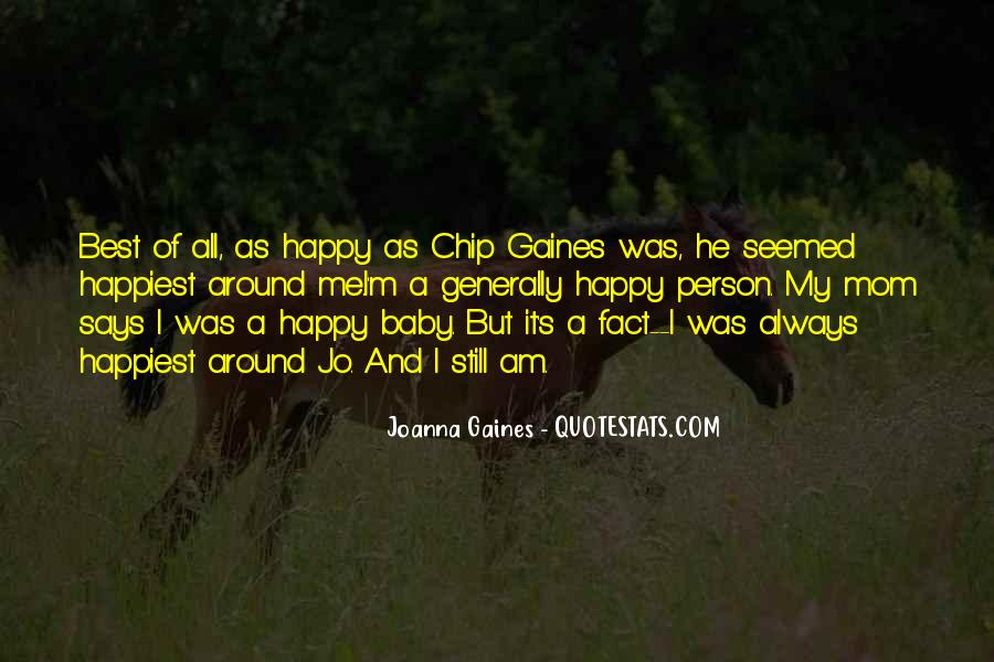 I Am Happy Person Quotes #1410701