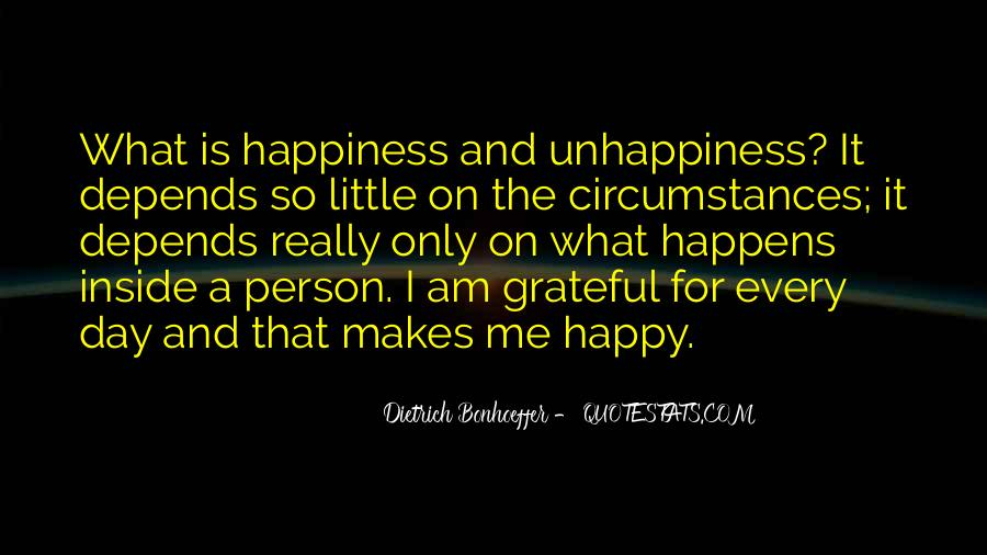 I Am Happy Person Quotes #1445927