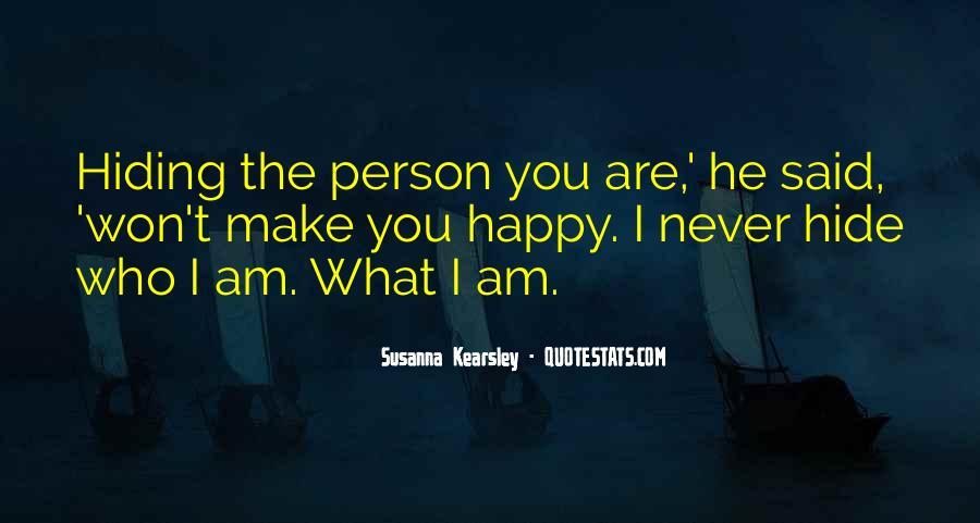 I Am Happy Person Quotes #1688401
