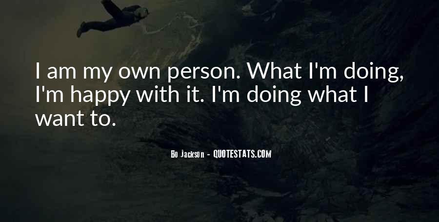 I Am Happy Person Quotes #1803630