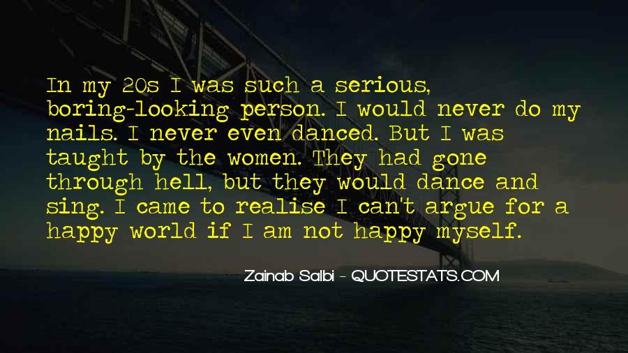 I Am Happy Person Quotes #1838943