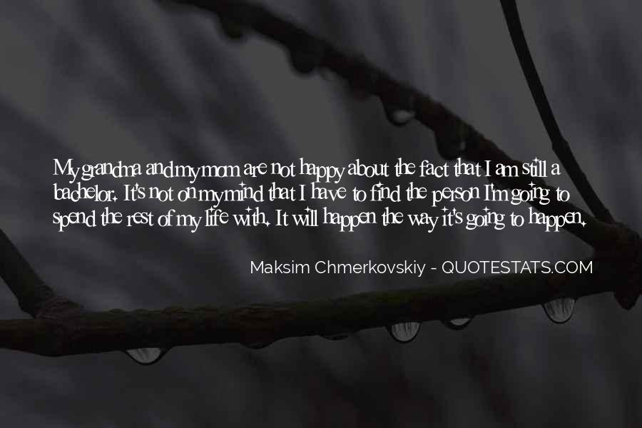 I Am Happy Person Quotes #207730