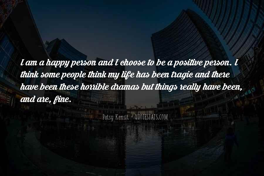 I Am Happy Person Quotes #447650