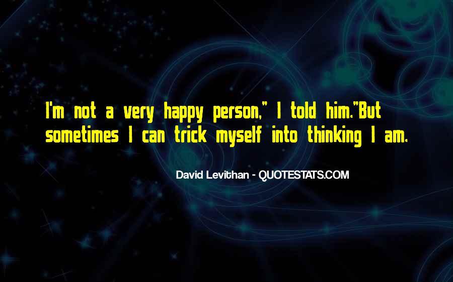 I Am Happy Person Quotes #802021