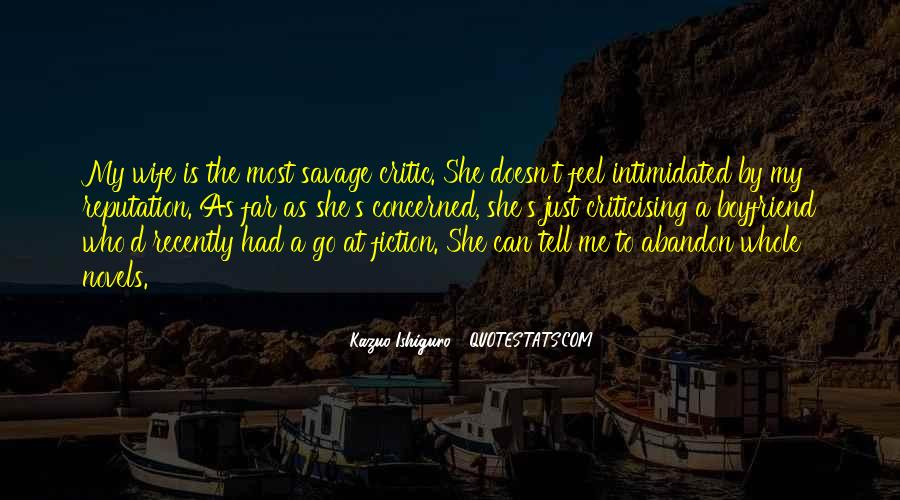 I Am His Wife Quotes #10013