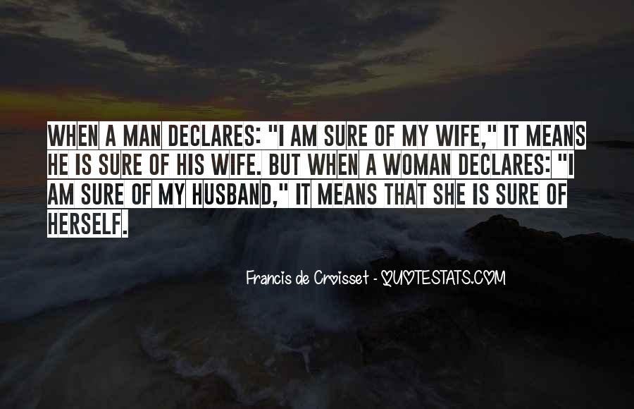 I Am His Wife Quotes #123818