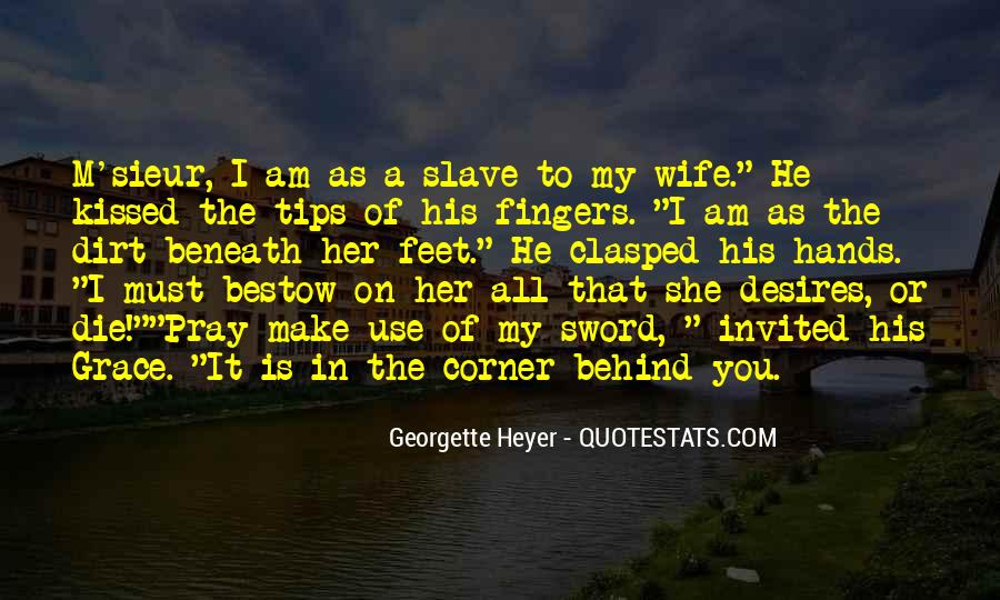 I Am His Wife Quotes #1322049
