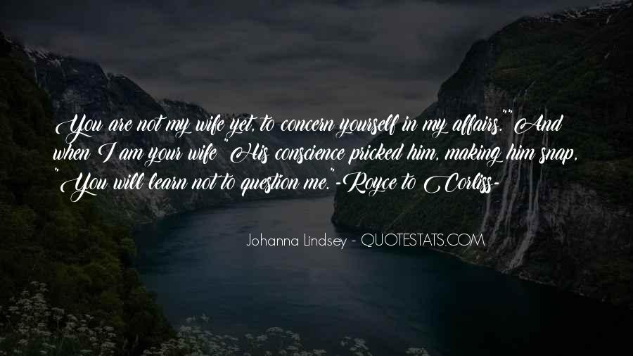 I Am His Wife Quotes #1330684