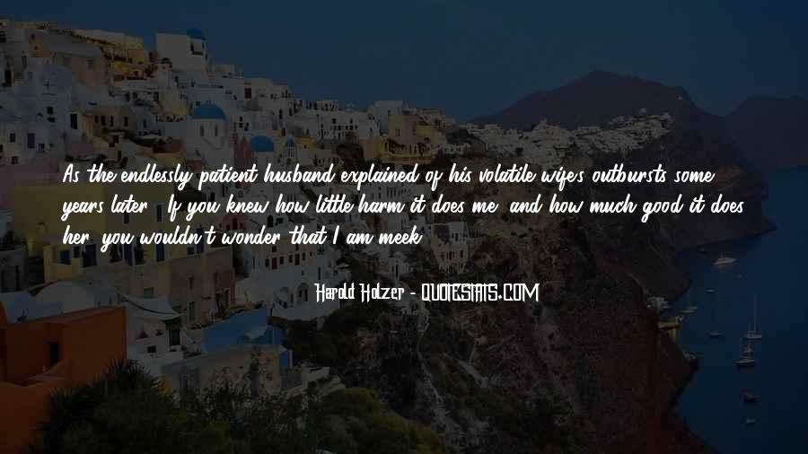 I Am His Wife Quotes #1364094