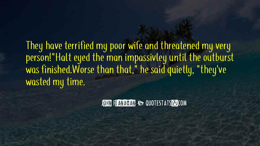 I Am His Wife Quotes #13769