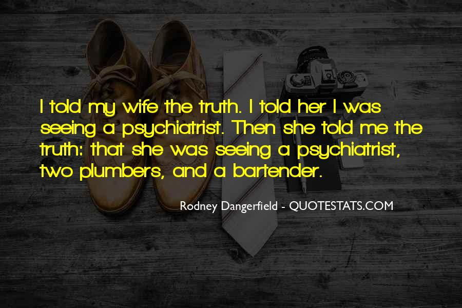 I Am His Wife Quotes #843