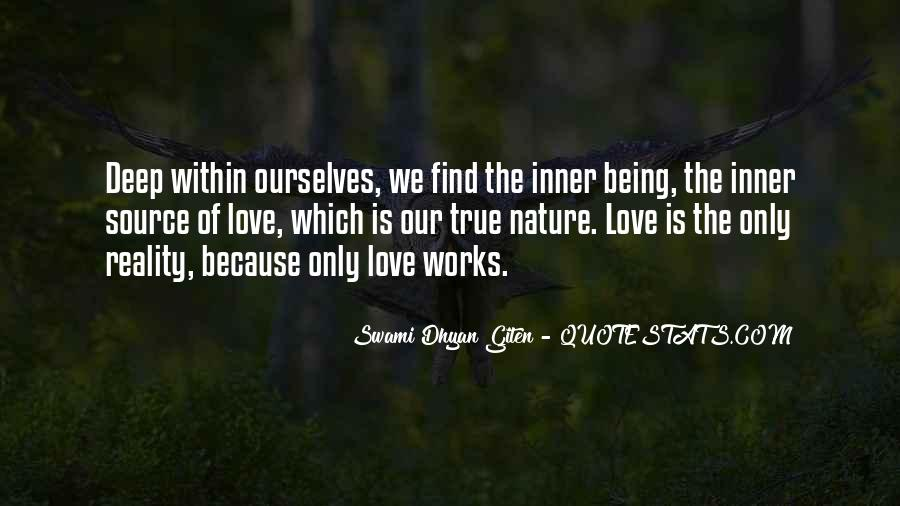 I Am In Love With Nature Quotes #107609