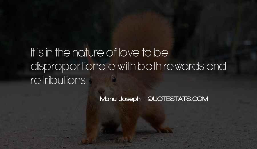 I Am In Love With Nature Quotes #32795