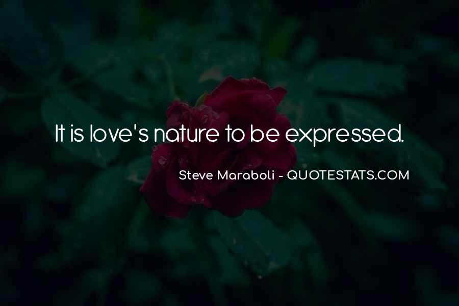 I Am In Love With Nature Quotes #67729