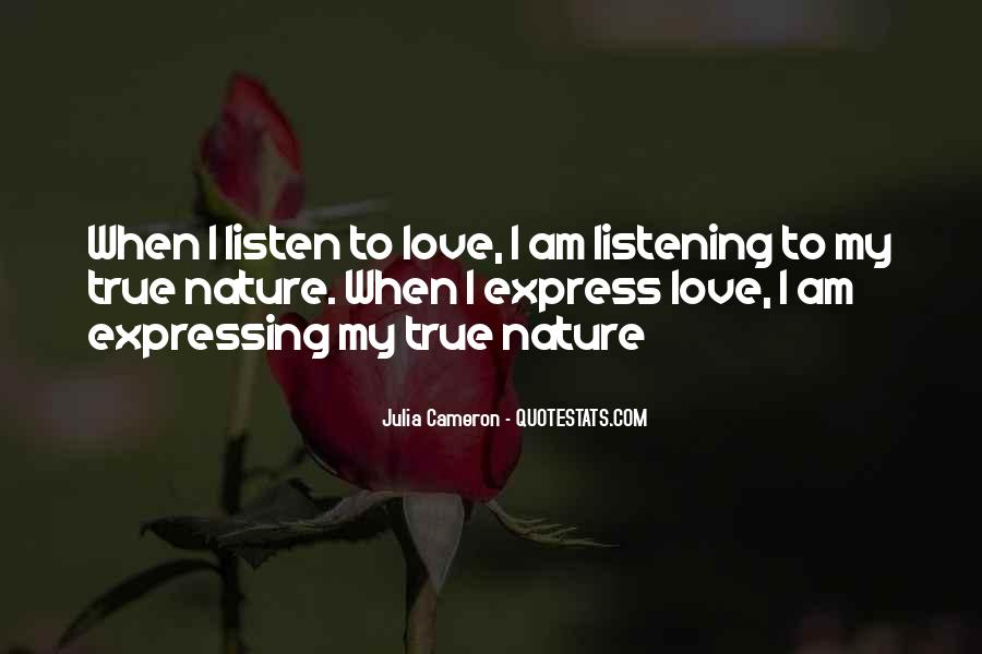 I Am In Love With Nature Quotes #72633