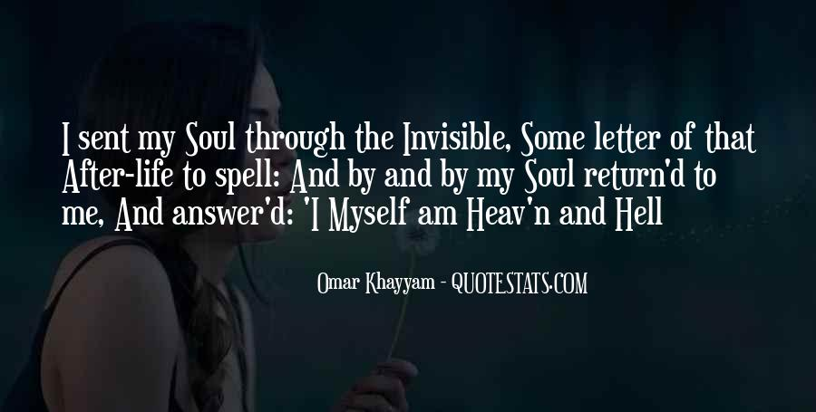 I Am Invisible Quotes #1160028