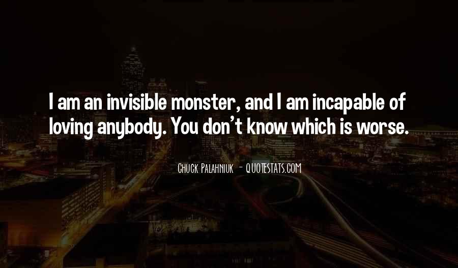 I Am Invisible Quotes #1301748
