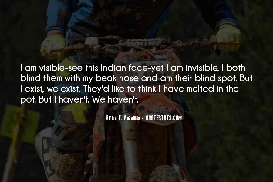 I Am Invisible Quotes #19498