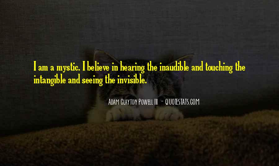 I Am Invisible Quotes #68493