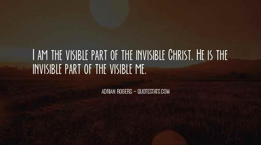 I Am Invisible Quotes #751270