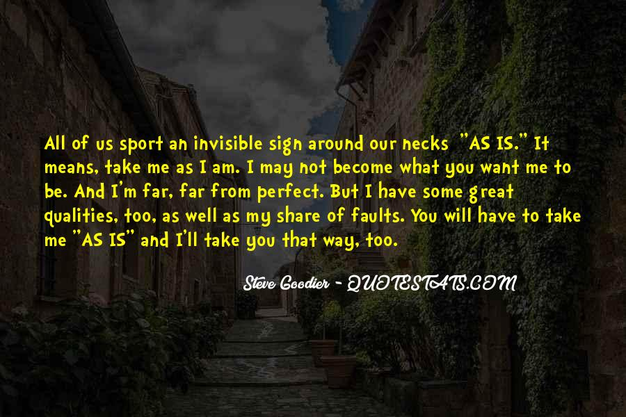 I Am Invisible Quotes #956417