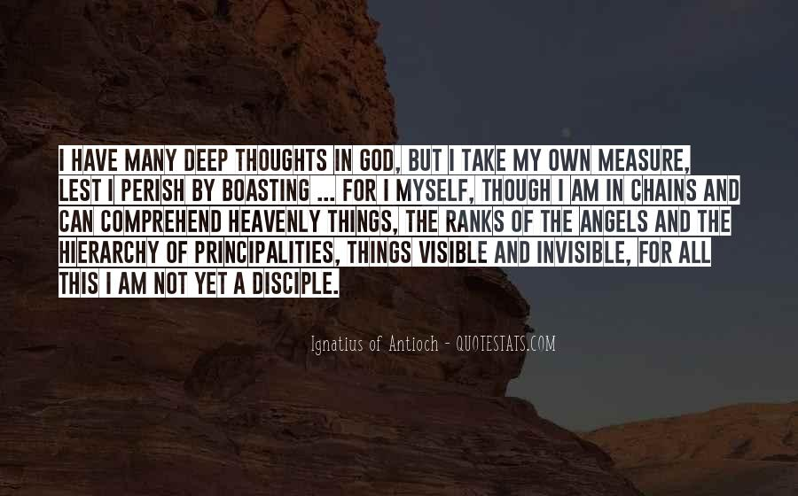 I Am Invisible Quotes #969898