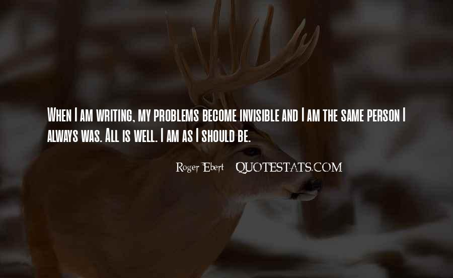I Am Invisible Quotes #970964