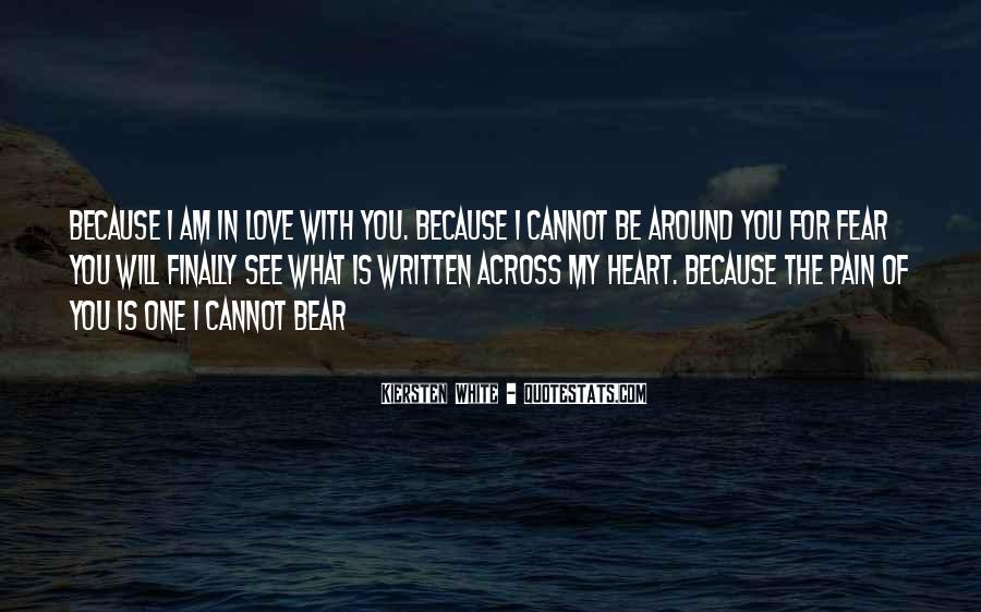 I Am Love You Quotes #18010