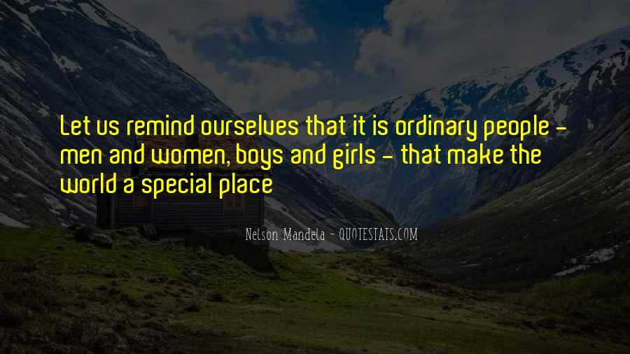 I Am No Ordinary Girl Quotes #86904