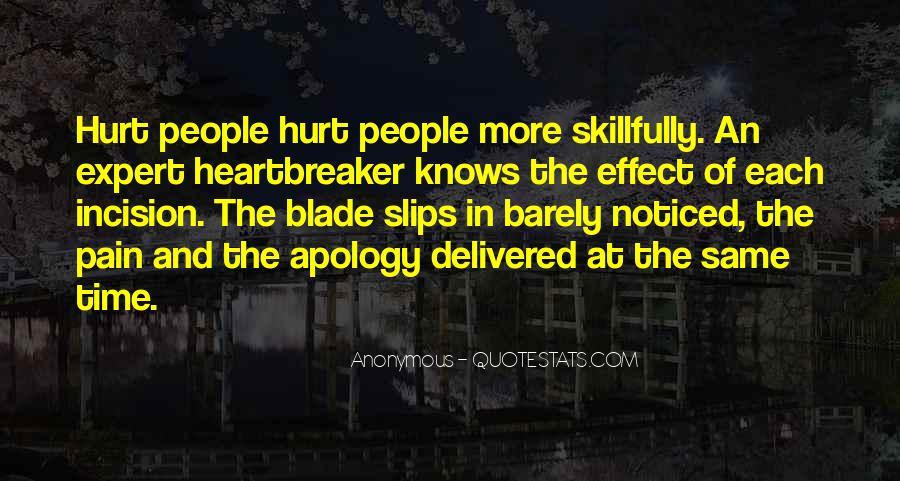 I Am Not A Heartbreaker Quotes #1262037