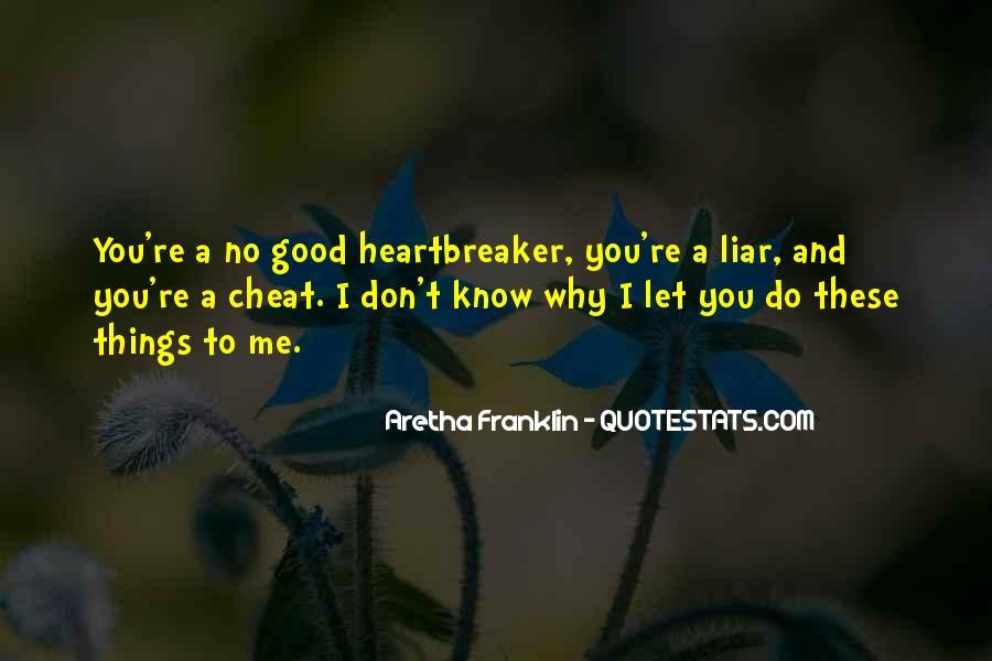 I Am Not A Heartbreaker Quotes #175917