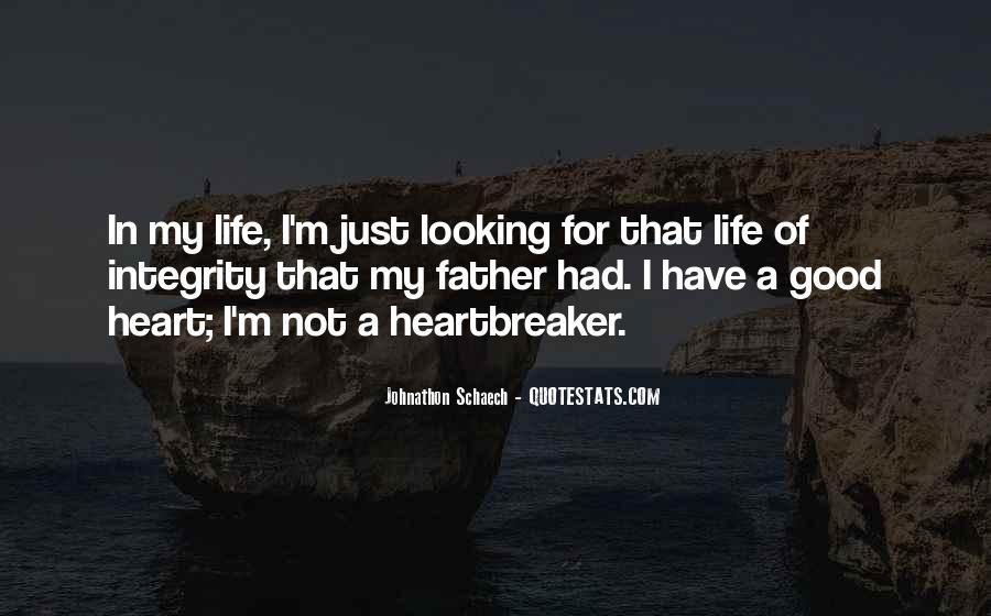 I Am Not A Heartbreaker Quotes #1837534