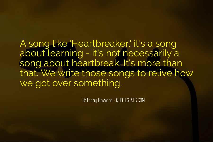 I Am Not A Heartbreaker Quotes #306709