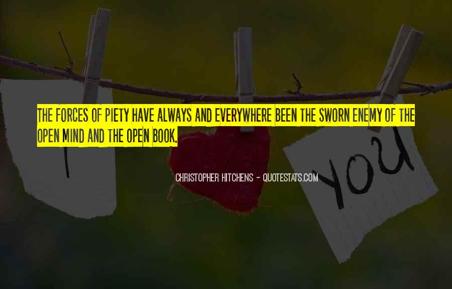 I Am Not A Open Book Quotes #148276