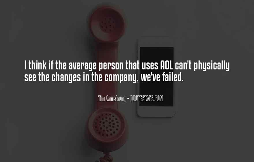 I Am Not Average Quotes #34546