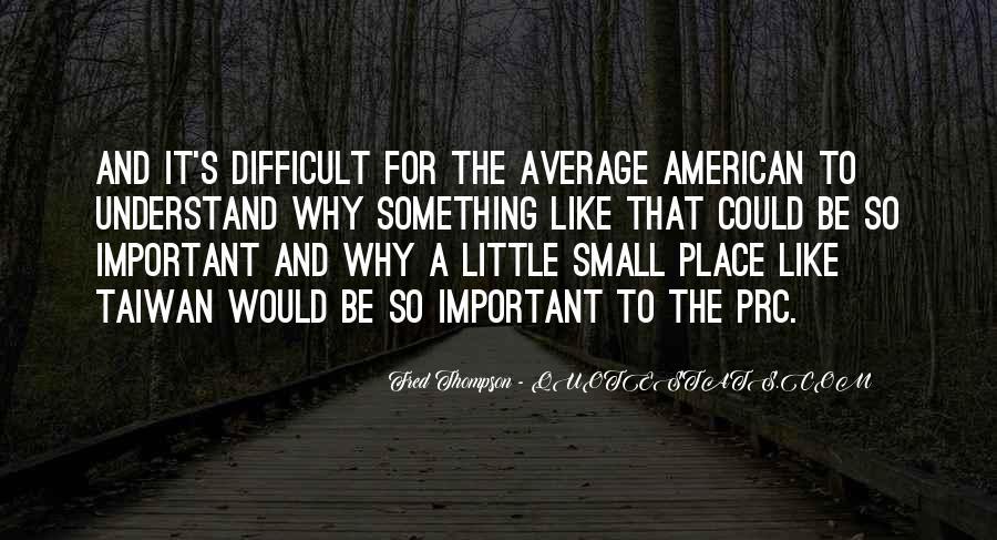 I Am Not Average Quotes #39248