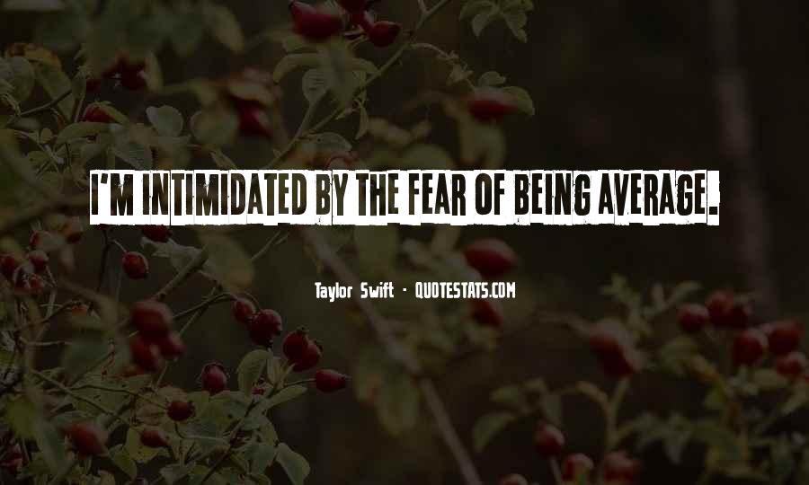 I Am Not Average Quotes #9520