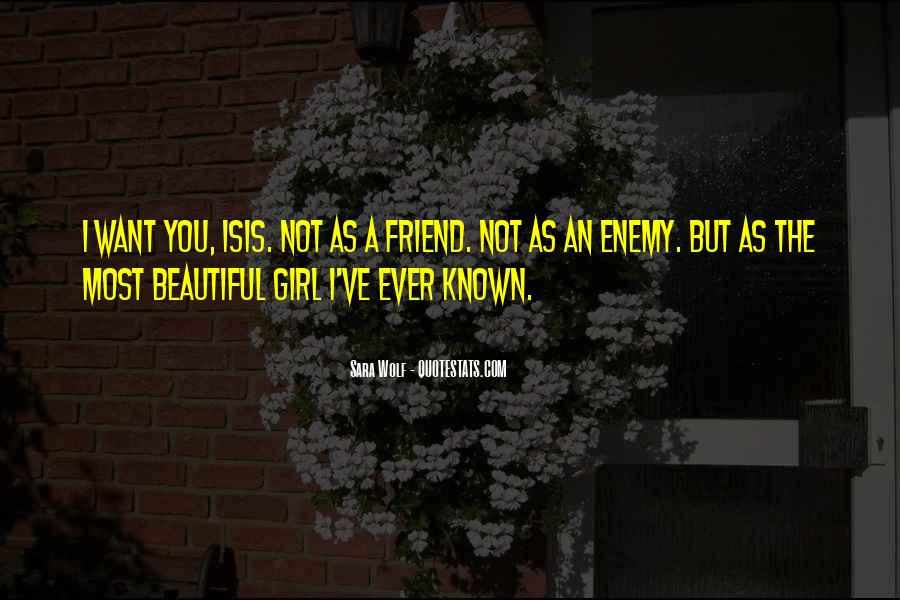 I Am Not Beautiful Girl Quotes #128916