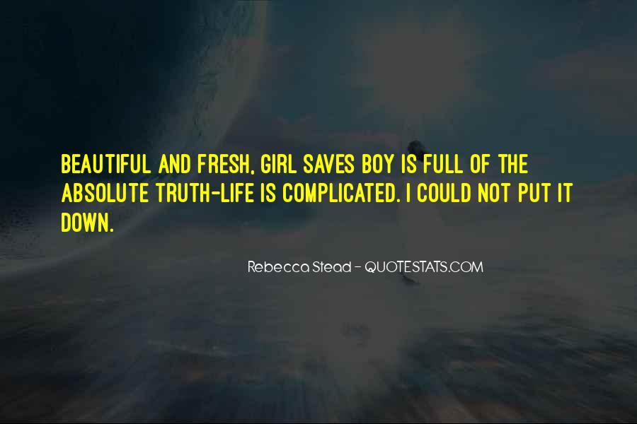 I Am Not Beautiful Girl Quotes #155246