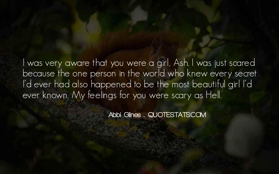 I Am Not Beautiful Girl Quotes #22053