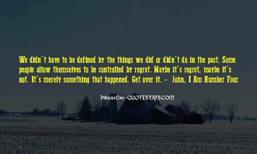 I Am Not Defined By My Past Quotes #304528