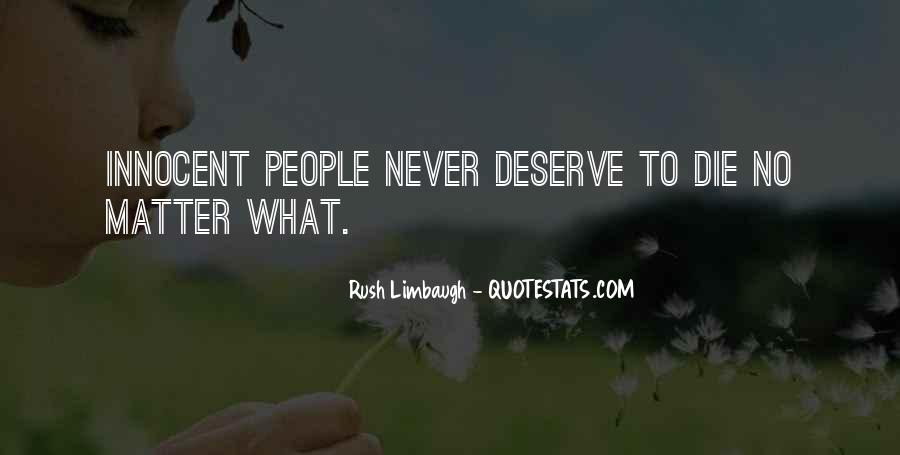 I Am Not Deserve You Quotes #11097