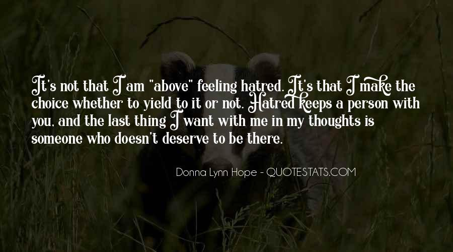 I Am Not Deserve You Quotes #155013