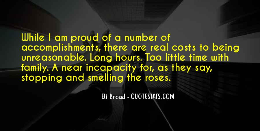 I Am Proud Of Your Accomplishments Quotes #767462